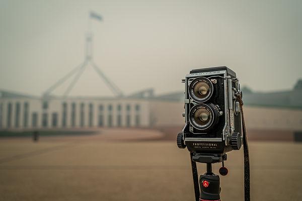 Mamiya C3 Canberra wedding photographer's camera