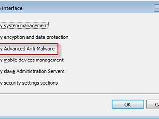 Por que o Web Control não é exibido na política do Kaspersky Endpoint Security 10?