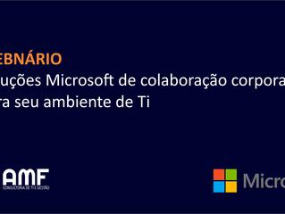 Como as ferramentas Microsoft podem ajudar a alavancar a produtividade e segurança de sua empresa?