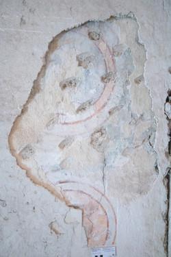 Vorzustand Wandmalereifragment