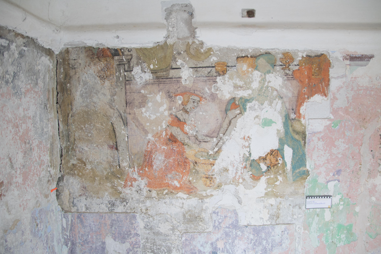 Wandmalereifragment