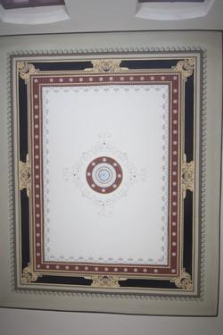 Rekonstruierte Decke