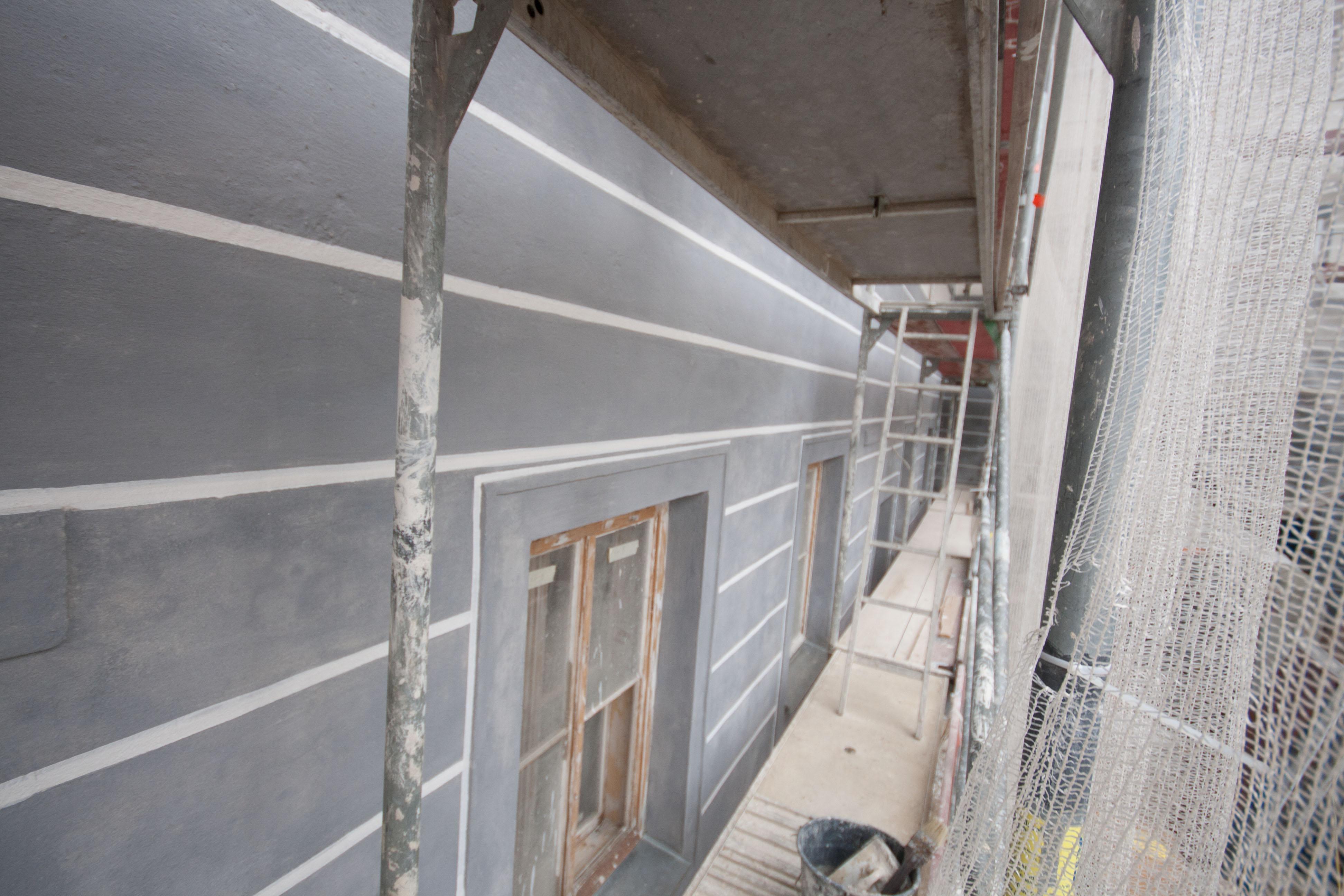 Architekturgliederung Innenhof