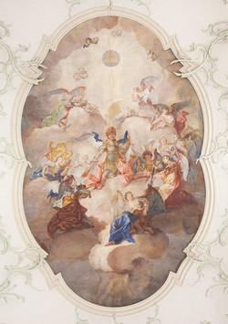 Darstellung Kirchenschiff