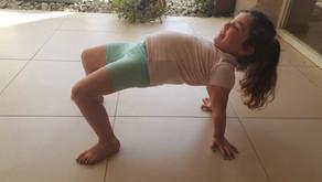 הכנה לכיתה א' - חיזוק שרירי היציבה וחגורת הכתפיים