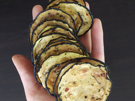 Zucchini Chips: 3 steps to make them and why you should eat them.