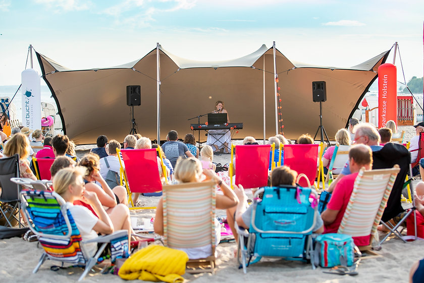 Musik im Strandkorb