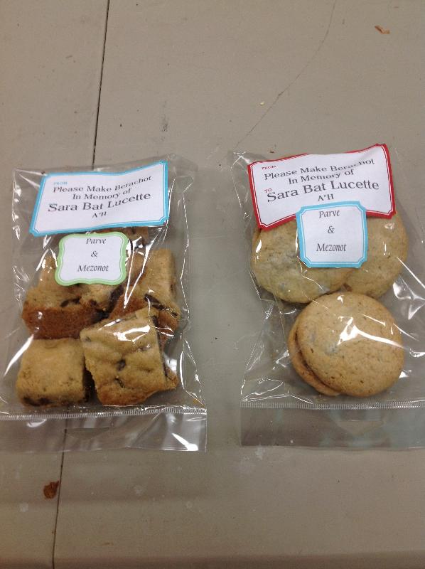 BYAT Bakes for Aishel Families