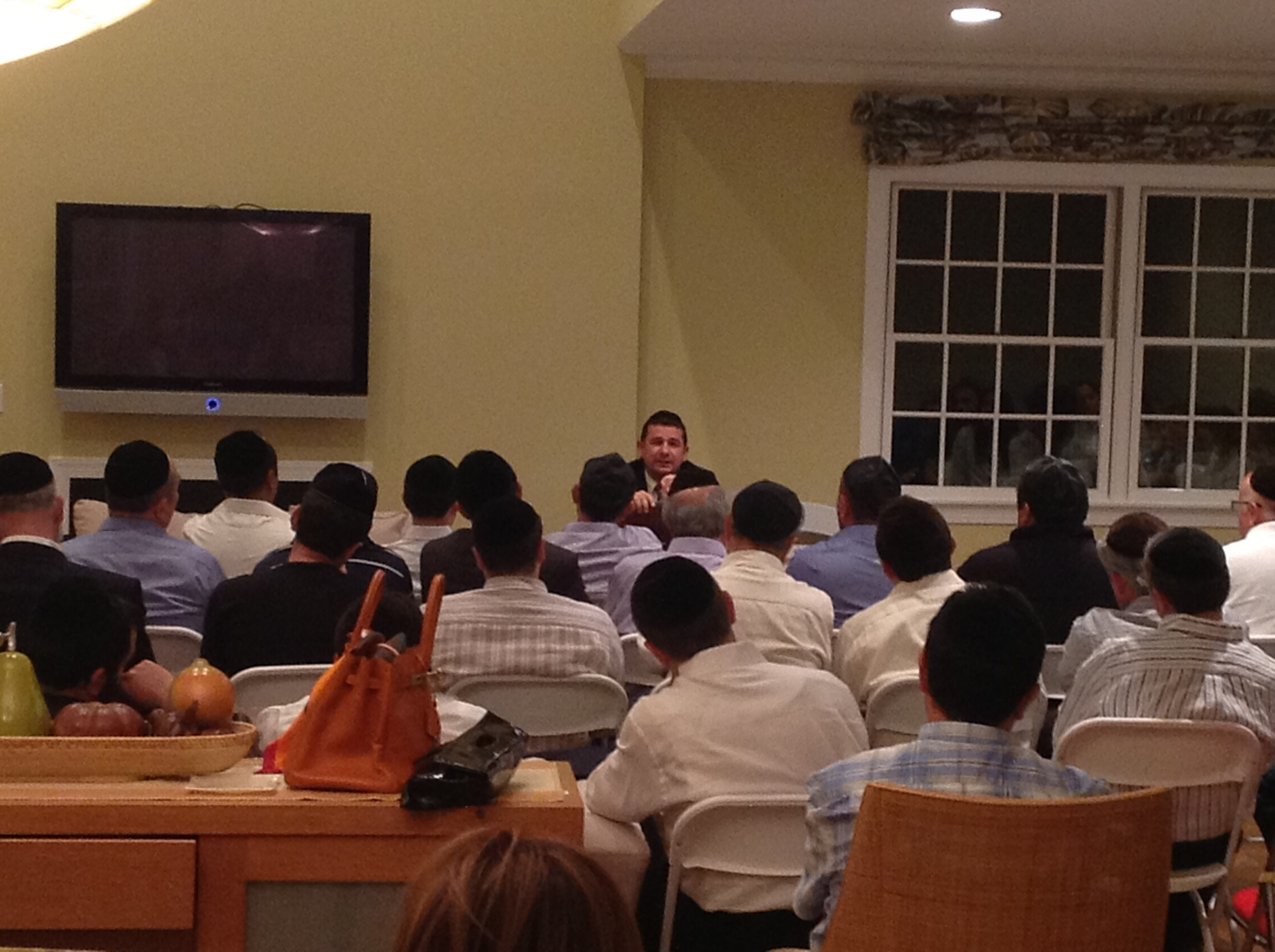 R' Yedid Speaks @ Aishel Event