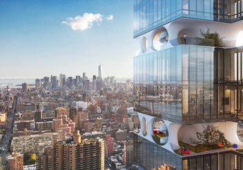 ODA Proposes a Manhattan skyscraper with open floors for Sky Gardens