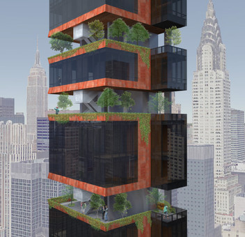 DAILY NEWS EXCLUSIVE: New United Nations skyscraper will have floating full-floor gardens
