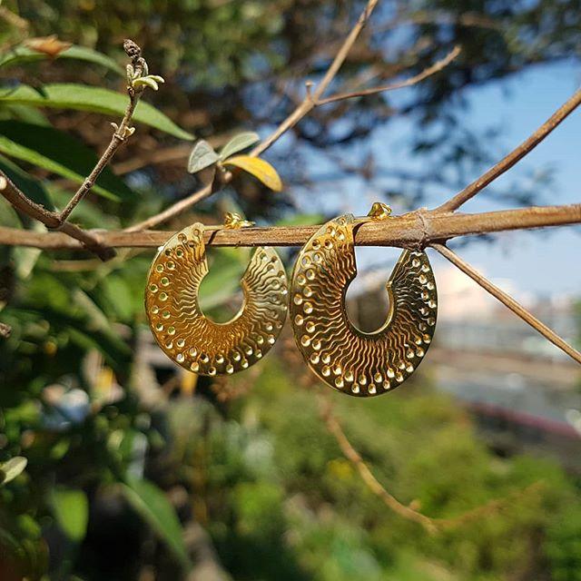 Boucles d'oreilles laiton