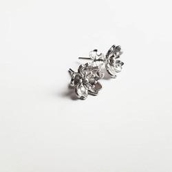 Boucles d'oreilles Sakura argent925