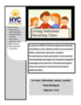 COVID19 Parenting Loving Solutions Flyer