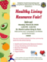 Healthy Living Resource Fair Flyer.png