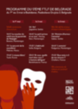 Programme 17ème FTLF de Belgrade