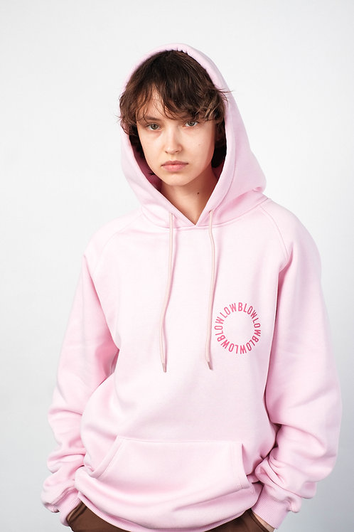 """Hoodie """"Overview"""" pink"""