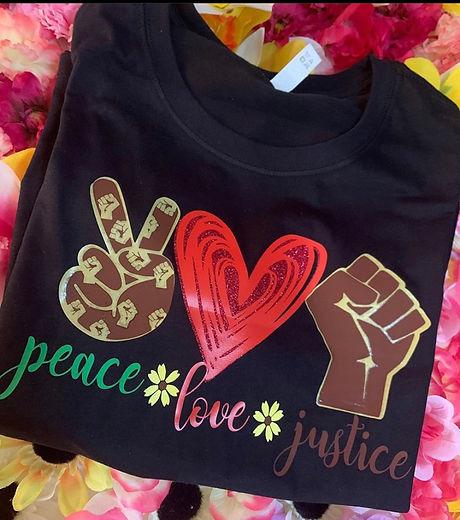 Peace. Love. Justice.