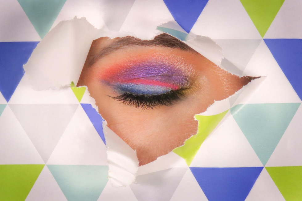 Kreativ Make-up Look