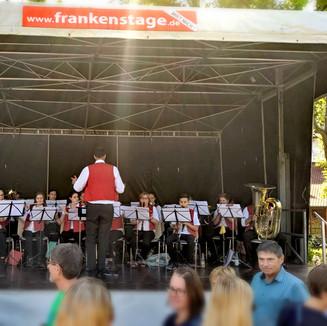 Das Sinfonische Blasorchester bei der 1175-Jahrfeier Estenfeld 2019