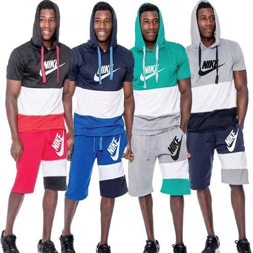 Hooded 2pc Nike set Men