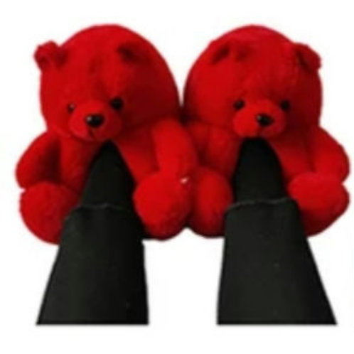Berry Comfy Slippers/Red