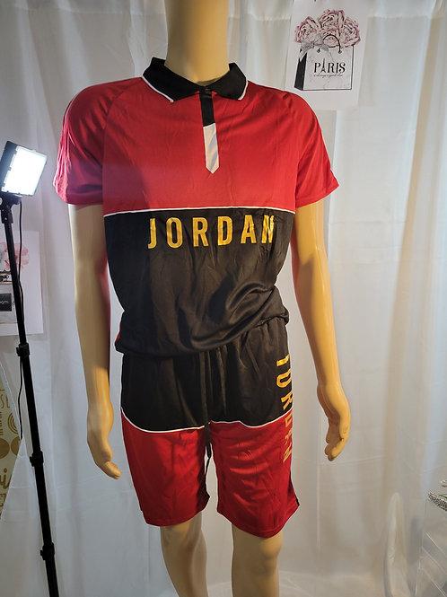 Mens 2pc Jordan/Red