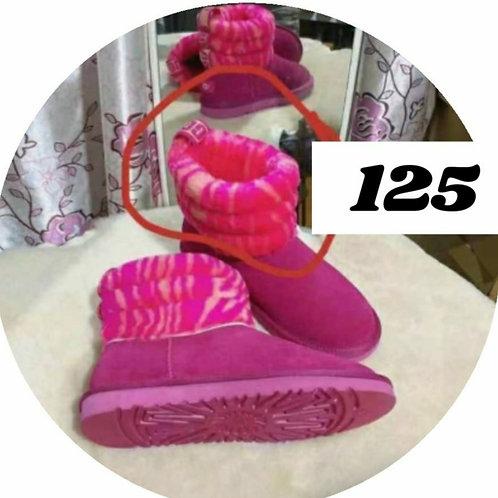 2tone pink fur uggs