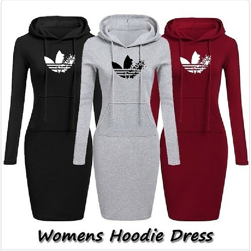women Adidas hoodie dress