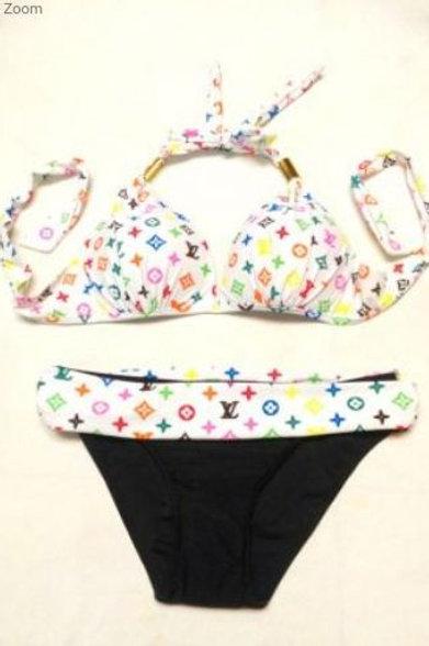 print swimming suit