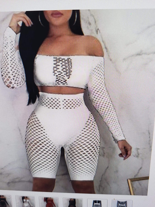 fish net 2 pc 2 other colors