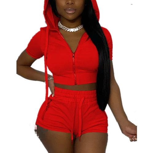 Sassy shorts 2pc set