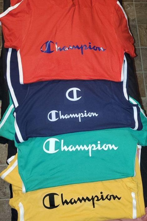 Champion dresses