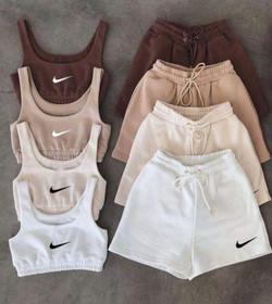 2pc Crop Nike set