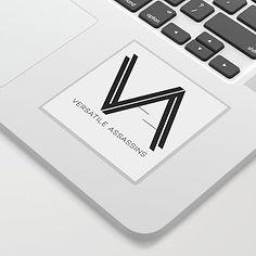 Versatile Assassins Logo Sticker