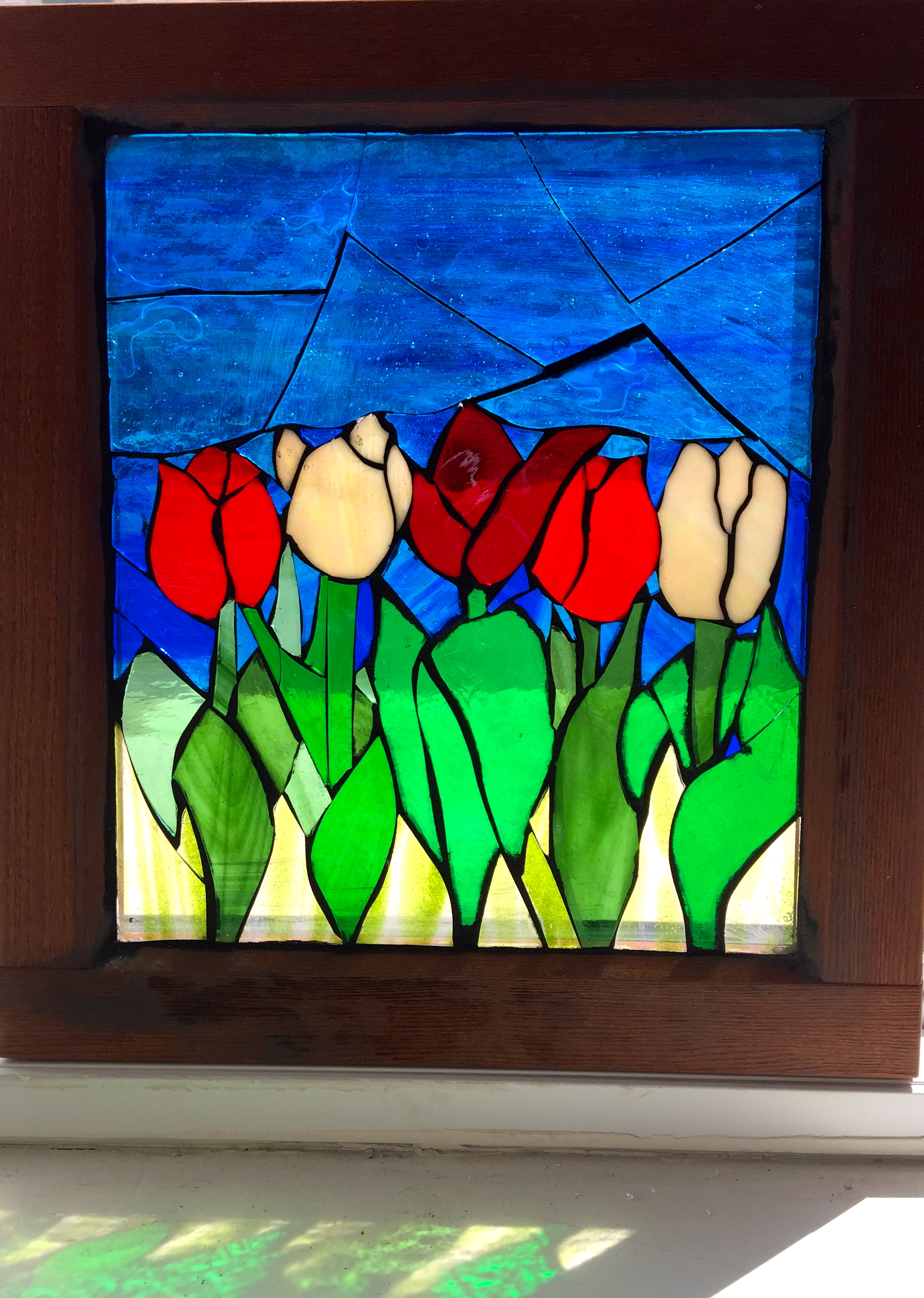 Spring Tulips - SOLD