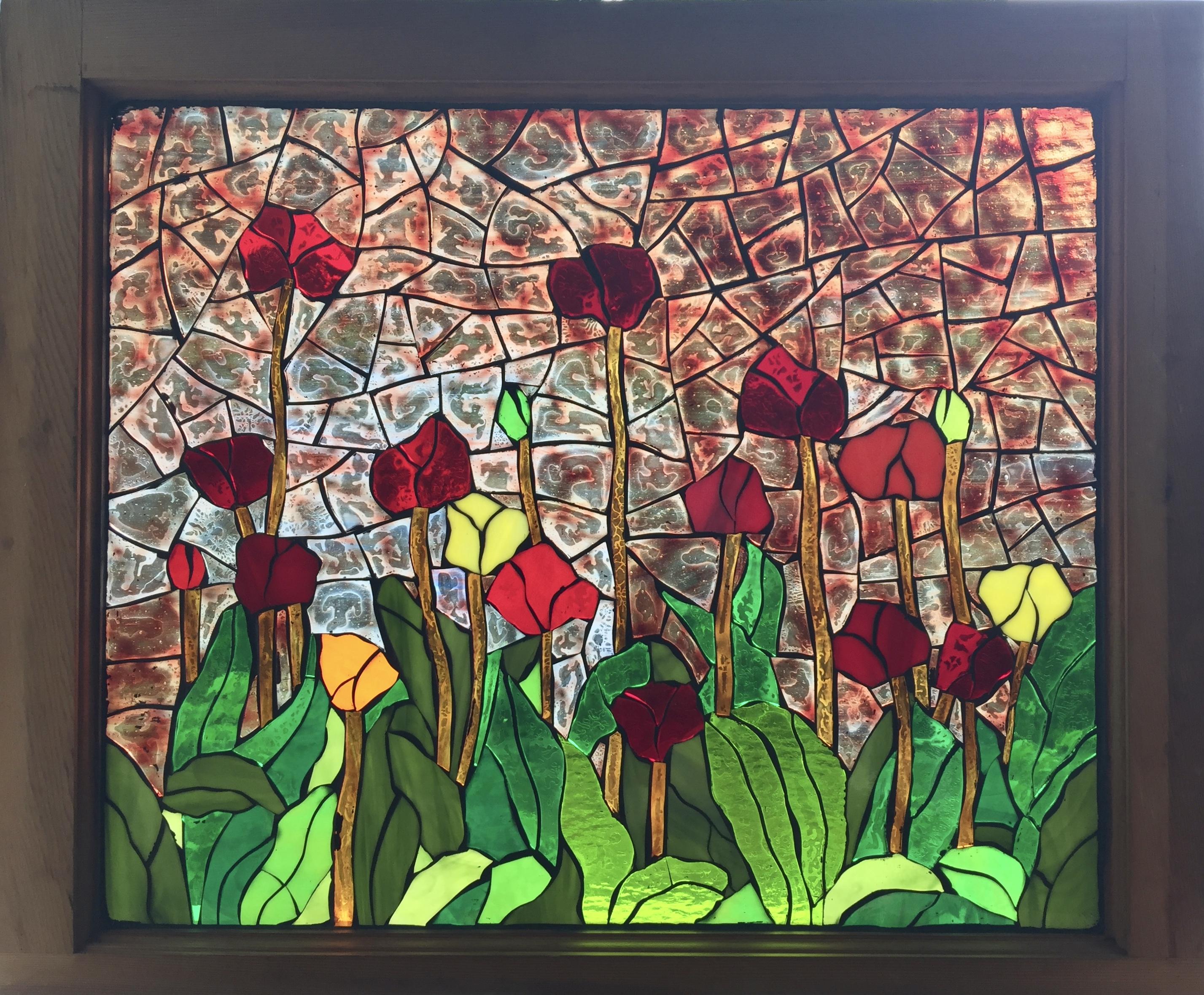 """Evening Garden"" $700"