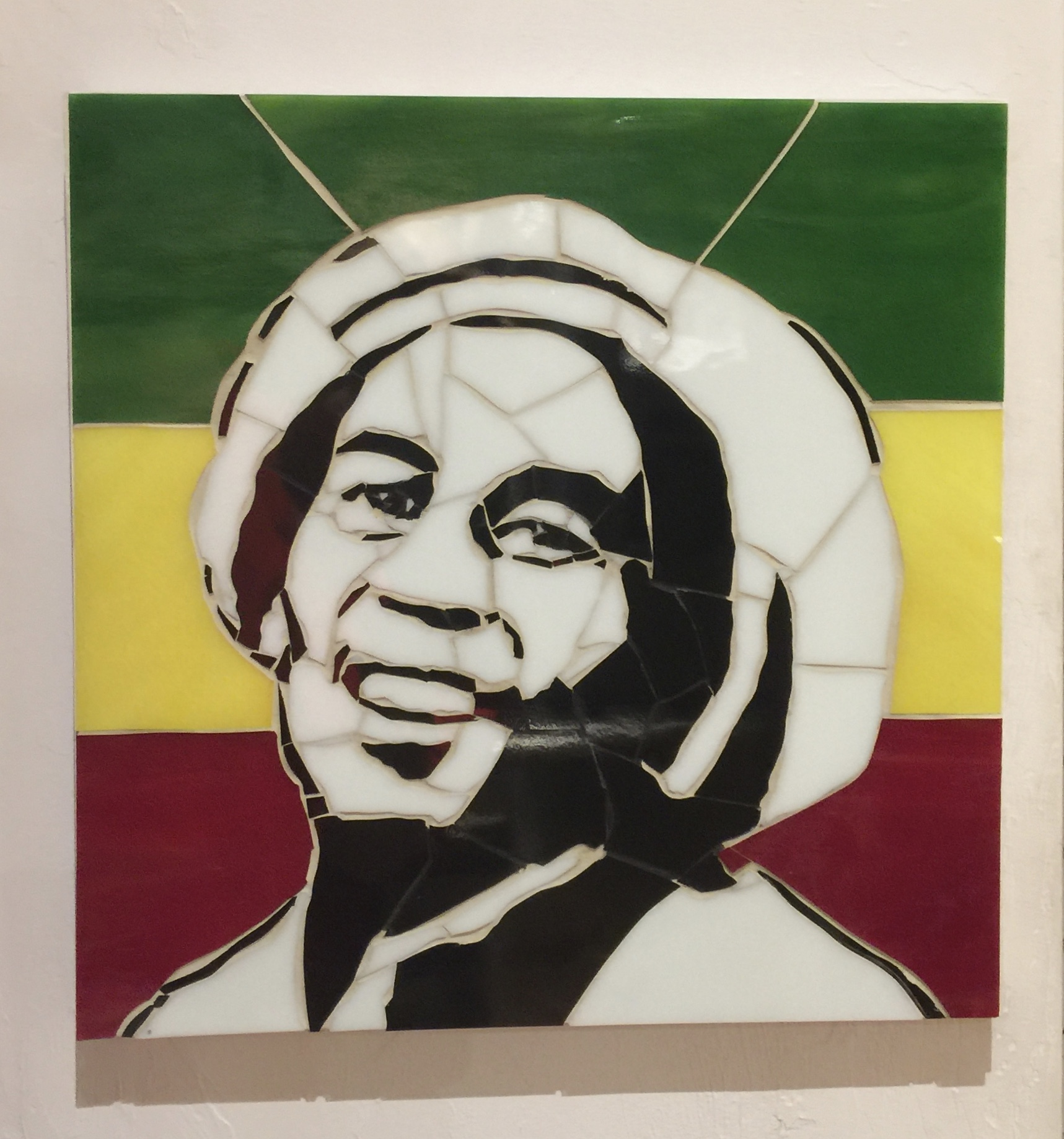 "Bob Marley 12""x12"""