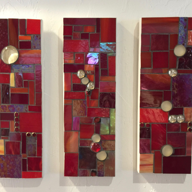 Red Triptych - SOLD