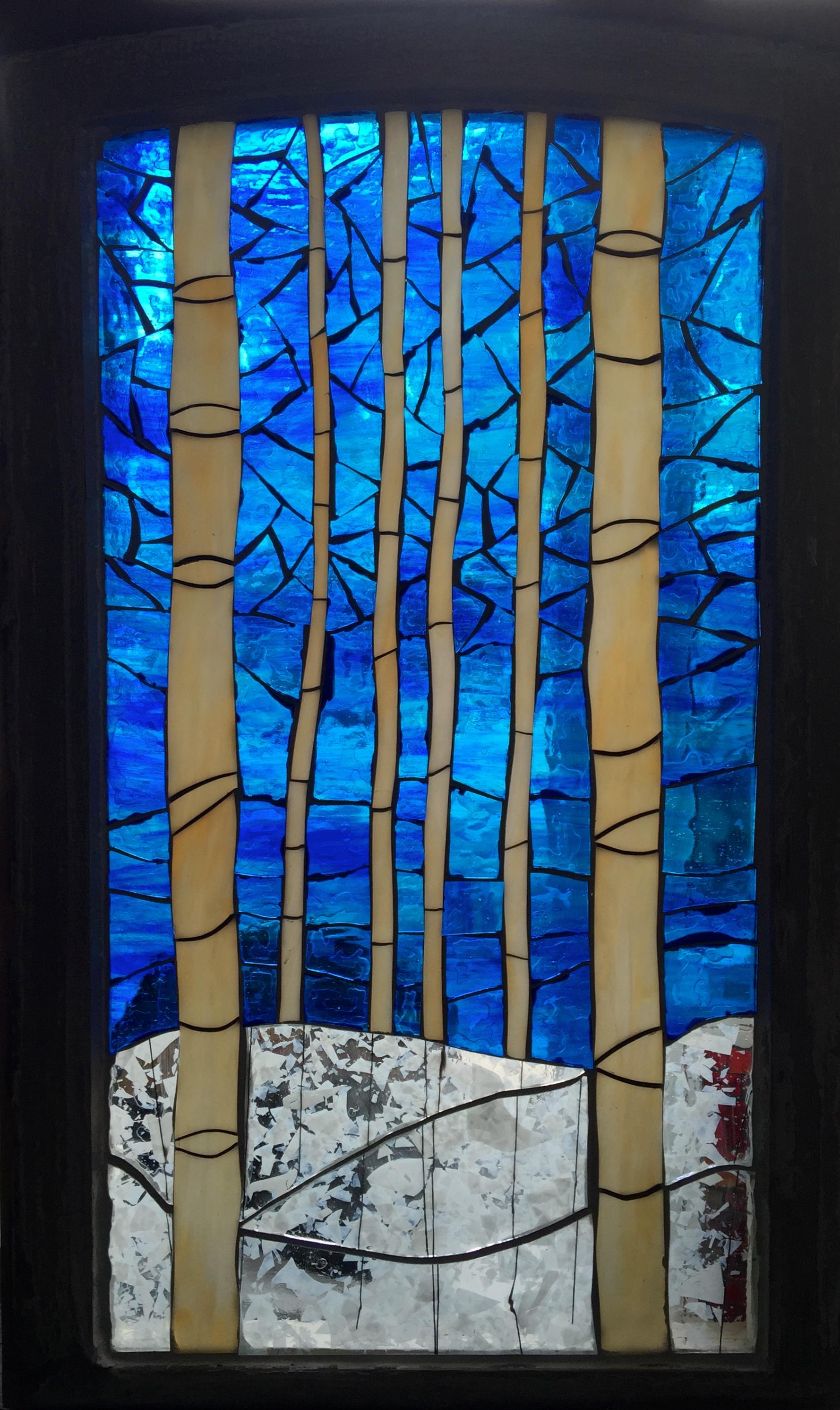 Winter Birches - SOLD