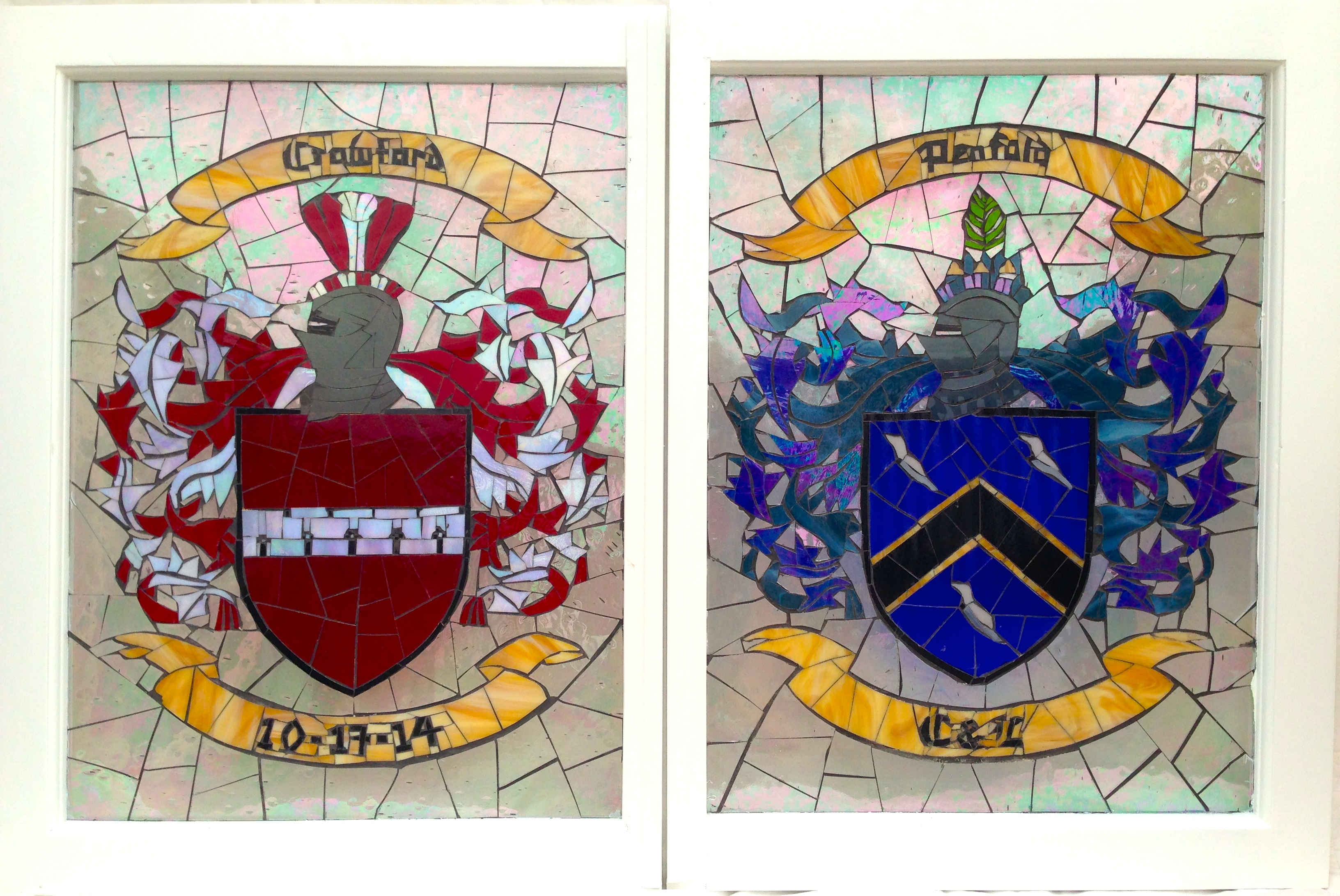 Family Crests as Wedding Gift