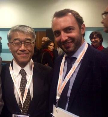 Con il Prof. Eiji Itoi - Giappone