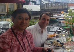 Con il Prof. Freddie Fu, Pittsburgh