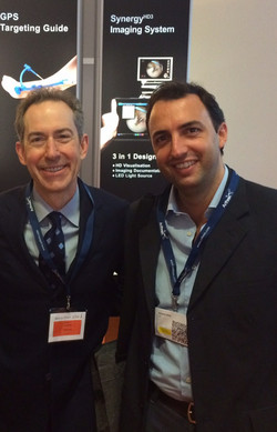 Con il Prof. James Lubowitz, USA