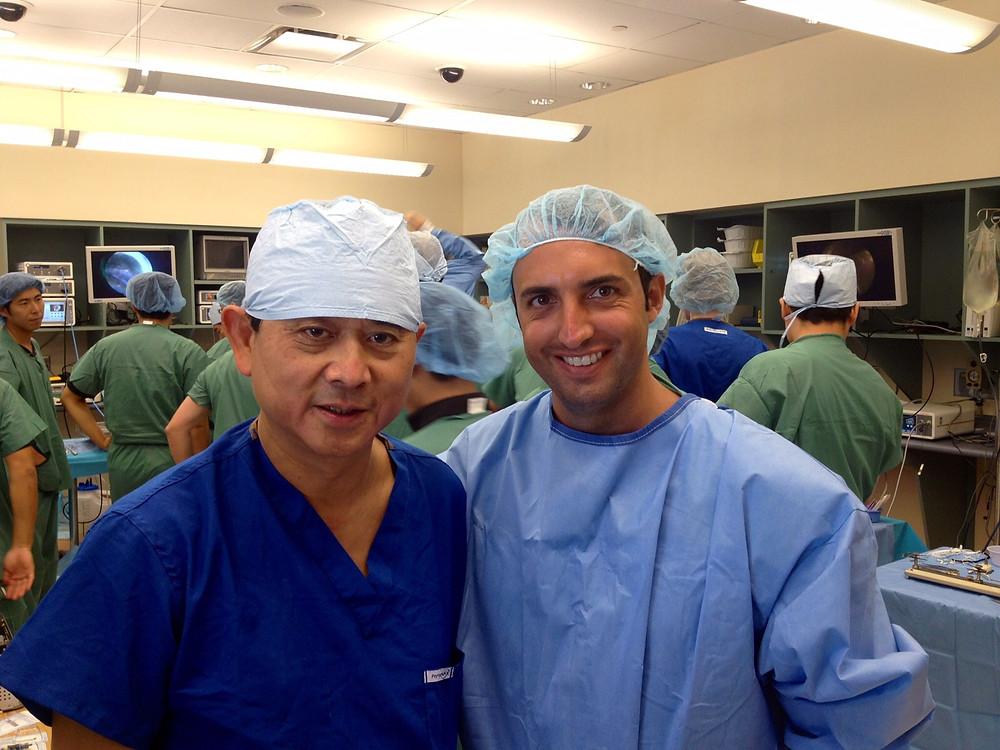 Prof. Freddie Fu con il Dott. Ugo Camilleri
