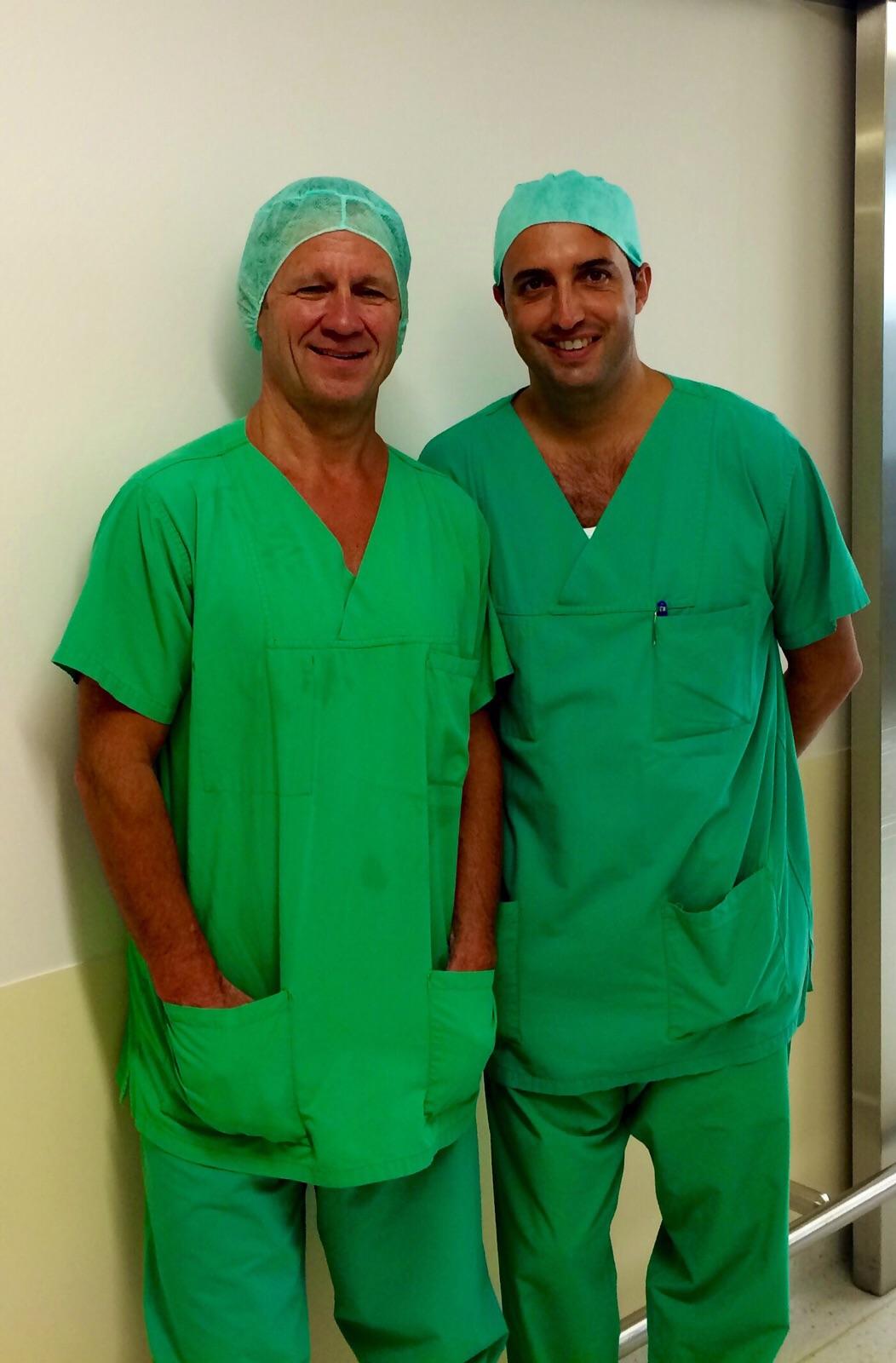 Con il Prof. A. Imhoff, Monaco (Ger)