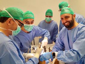 Tutor sulla protesica mini-invasiva di ginocchio all'HUMANITAS di Milano