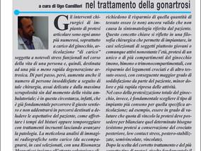 """Sul quotidiano nazionale """"Il Roma"""" in edicola il 27.11.2015, articolo sulle protesi di gin"""