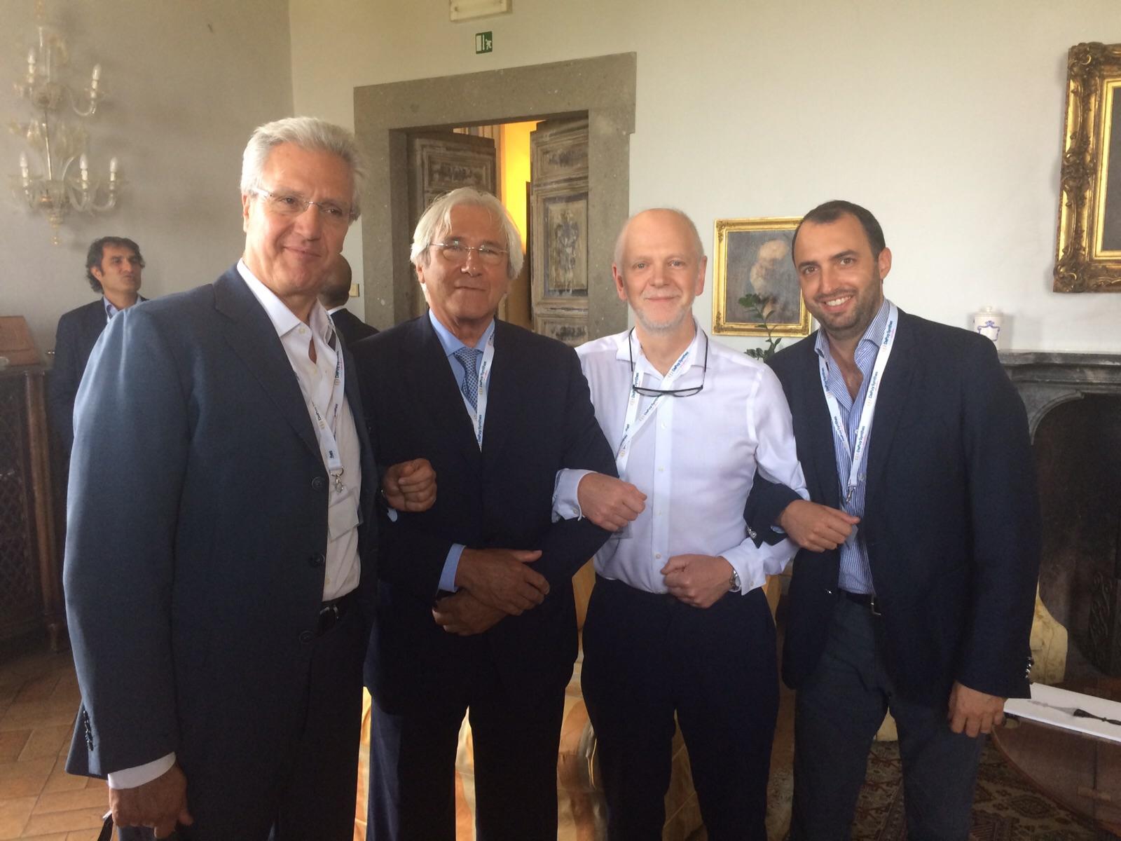 Con Prof. D.Beverland e K.Hamelink
