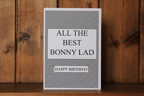 Geordie Birthday Card